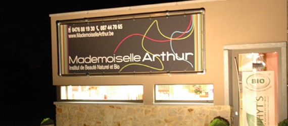 Mademoiselle Arthur Institut de beauté Naturel et Bio